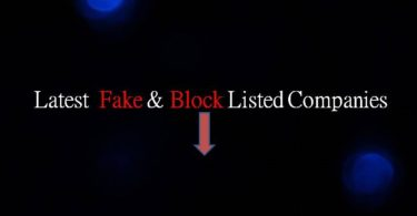 Latest Fake and Blacklisted Companies List