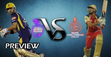 IPL Match Today Highlights Kolkata Knight Riders vs Royal Challengers Bangalore