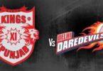 IPL Match Today Highlights Kings XI Punjab vs Delhi Daredevils